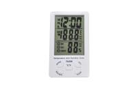 TA308 Термометр комнатный с влажностью и часами