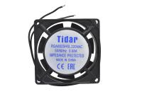 Вентилятор 220V-AC 80x80x25 RQA8025HSL (подшипник скольжения, 2400 об/мин. 0.08A)