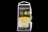 Duracell ZA10-6BL 1.4V 90mAh (для слуховых аппаратов)