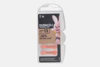 Duracell  ZA13-6BL 1.4V 280mAh (для слуховых аппаратов)