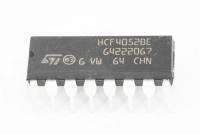 HCF4052BE DIP16 Микросхема