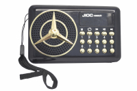 Радиоприемник JIOC H088UR аккумулятор Li-Ion, USB, SD card, AUX черный