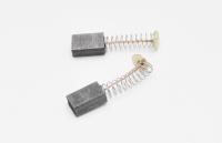 556 Электроугольная щетка Rezer 5х8х12 Пружина-пятак (для Интерскол ДУ 550/650/750/780wt)