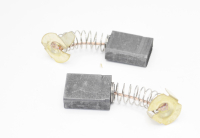 605 Электроугольная щетка Rezer 6,3х13,5х18 пружина, пятак-уши для Makita СВ-153А