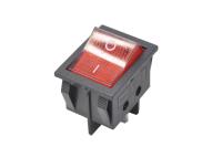 Переключатель KCD4 (IRS-201-6C) On-Off красный 250V 15A (4c)