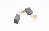 602 Электроугольная щетка Rezer 6х9х12 пружина, пятак-зацеп для Makita СВ-419А