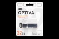 17826 Флэш Qumo 32Gb USB 2.0 Optiva 02 (черный)