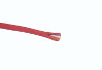 Кабель микрофонный D=3.0mm красный (две жилы + два экрана) LCM-18 RD (28-183)