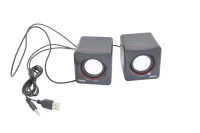 Колонки 2.0 Dialog Colibri AC-04UP black-red 6W RMS