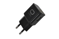 23765 Сетевое зарядное устройство Qumo QC 3.0 черный