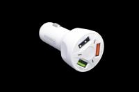 Зарядное устройство в прикуриватель TS-CAU32 белый 12-35V 5V-7A 9-12V-1.8A