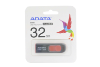 64261 Флэш Adata 32Gb USB2.0 C008 black-red