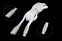 55742 Кабель ACD-Infinity USB 2.0 AM-Lightning, ACD-U922-P5W, 1.2м белый