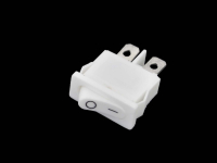 Переключатель KCD1-110O0111WWA 250V 6A On-Off белый (2c)