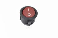 Переключатель KCD1-106101O11RKA (KCD1) On-Off 250V 6A красный (2c)