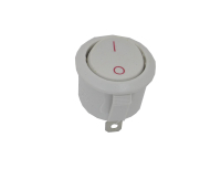 Переключатель KCD1-106101O11WWA (KCD1) On-Off 250V 6A белый (2c)