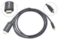 Кабель-адаптер USB3.1 Type-C - HDMI 1.8m Telecom (TCC008)