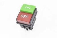 Переключатель KCD4-AN-4 On-Off зеленый-On/красный-Off 250V 16A (4c)