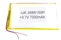 00-00020318 Аккумулятор 3.7V 7000mAh 3.5x85x155mm универсальный с проводками