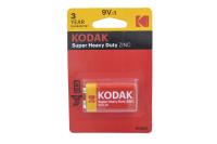 Kodak 6F22-1BL Extra (крона) батарейка