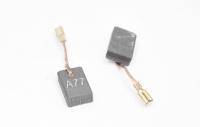 536 Электроугольная щетка 5х10х16 поводок, клемма-мама для Bosch A77