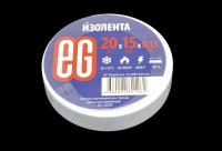 11678 Изолента Еврогарант 15mm х 20м белая