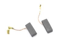 541 Электроугольная щетка 5х8х19 поводок, клемма-мама выход сбоку для Bosch (оригинал) GBH 2-26 (пара)