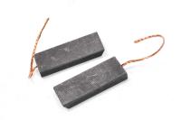 440 Электроугольная щетка Bosch,Indesit, Ariston, Ardo, Zanussi 5х13,5х35 поводок O=1 мм, скос на краю