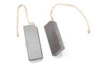 442 Электроугольная щётка 5х12,5 х32,5 Bosch,Indesit, Ariston, Ardo, Zanussi (пара) поводок O=1,8 мм, скос на краю, срез на углу