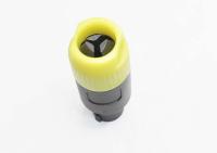 """Разъем Speacon """"шт"""" пластик на кабель желтый (68mm) 1-580YE"""