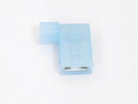 "Клемма плоская флажковая ""гн"" 6.3mm синяя BNYF-2 (FLDNY-2)"