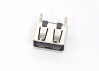 Разъем USB 2.0 A гнездо на плату (USBA-1JS)