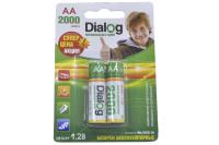 Dialog HR6-2BL 2000mA (AA) Аккумулятор (блистер)