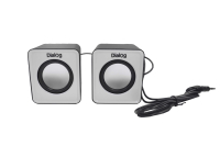 Колонки 2.0 Dialog Colibri AC-02UP black-white 6W RMS