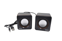 Колонки 2.0 Dialog Colibri AC-04UP black-orange 6W RMS