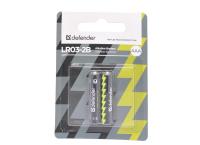 Defender LR03-2BL (AAA) батарейка (блистер)