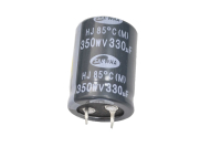 330mkF 350v  85C SAMWHA HJ mini конденсатор