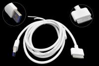 Шнур USB 2.0 AM > iPhone 4/4S 1.5м PS-93 (0.8A)