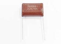 CAP  0.47mkF  630V 10% (474) CL21 Металлопленка конденсатор