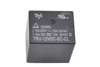 TRU-12VDC-SC-CL Катушка 12V, одна группа, 10А 20.2х16.5х20.2 РЕЛЕ