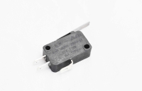 Микропереключатель KW7-0 (B180E) 250V 5A черный с рычагом 25.0mm 3-pin