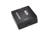 Конвертор VGA (вход) HDMI (выход) VGA2HDMI (с питанием)