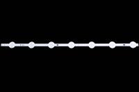Линейка светодиодов к LED TV 620x12mm, 7 шт., Samsung 2015SLS55_FCOM_2D_7LED_REV0.1_150325