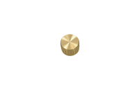 Ручка для аппаратуры D=26mm H=17mm gold