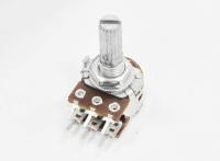 Резистор переменный 6pin(3+3) B10K d=16mm L=15mm стерео №2A