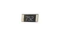 Резистор SMD     7,5 KOM  0.25W 1206 (752)