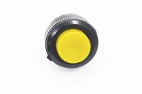 Кнопка DS-511 Off-(On) желтая 12V 1A без фиксации
