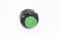 Кнопка DS-511 Off-(On) зеленая 12V 1A без фиксации