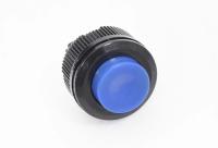 Кнопка DS-511 Off-(On) синяя 12V 1A без фиксации