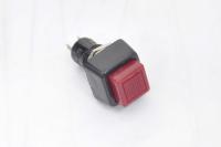 Кнопка PBS-21B Off-(On) красная 250V 1A без фиксации